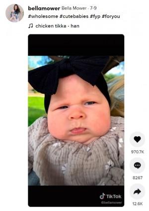 """【海外発!Breaking News】""""ブサイク赤ちゃんチャレンジ""""が癒しと爆笑を呼ぶ 「65歳のおじさんソックリ」の声も"""