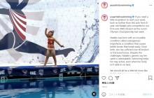 難病で40回以上も骨折の8歳少女が魅せた渾身のシンクロ演技に涙「陸上ではできないことが水中ではできる!」(米)<動画あり>