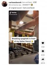 【海外発!Breaking News】「パスタを折るなんて違法だ!」 アメリカ人女性の調理法にイタリア人の彼氏が猛抗議!<動画あり>