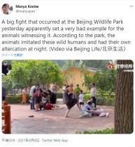 【海外発!Breaking News】中国の動物園で来場客が大乱闘 人々は呆れ「動物たちのほうがよっぽどマナーがいい」<動画あり>
