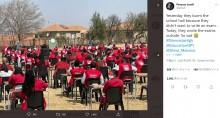 【海外発!Breaking News】「テストを受けたくない」と高校を放火 生徒らは校庭で試験を受ける羽目に(南ア)