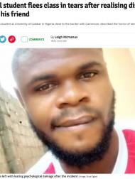 【海外発!Breaking News】男子医学生、解剖の授業で実習用の遺体が旧友と気付き号泣(ナイジェリア)