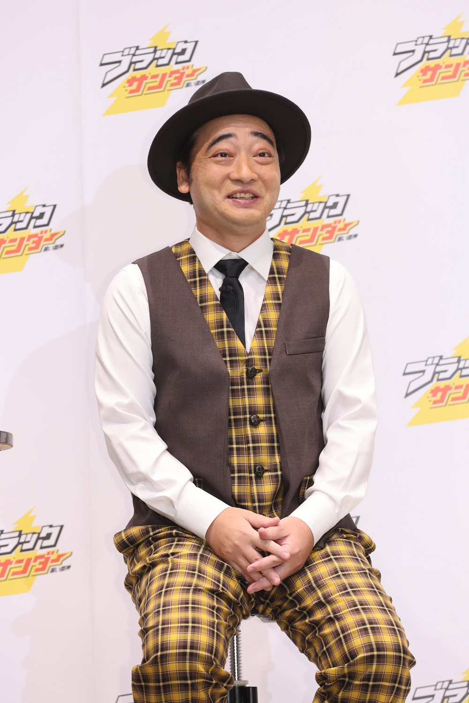仕事復帰後初のイベントに登場した斉藤慎二