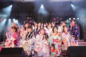 『MX夏まつり AKB48 2021年 最後のサマーパーティー!』にて(C)AKB48