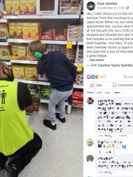 """【海外発!Breaking News】自閉症男児が満面の笑みに! スーパー店員の""""神対応""""に称賛の嵐(豪)"""