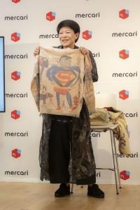 美川憲一が実際にメルカリで買ったバスキアのセーター