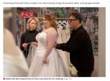 【海外発!Breaking News】交通事故の大怪我で「自分の見た目が嫌いになった」花嫁、夢のウェディングドレスを試着し自信を取り戻す(英)