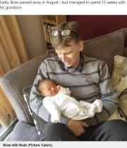 【海外発!Breaking News】「孫を抱きしめて!」余命僅かの父のため体外受精で夢を叶えた女性(英)