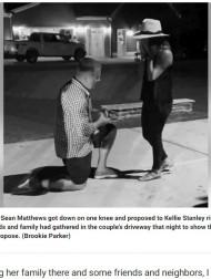 【海外発!Breaking News】自宅が全焼した男性、焼け跡から婚約指輪を探し出しその場で恋人にプロポーズ(米)<動画あり>