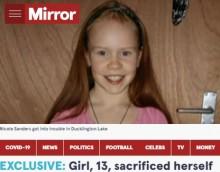 【海外発!Breaking News】湖で溺れた妹の頭を水面に持ち上げ、自ら犠牲になった13歳姉(英)