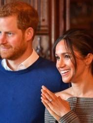 【イタすぎるセレブ達】ヘンリー王子&メーガン妃、第2子誕生後初めて対面式イベントに登場 ニューヨーク市長らと会談