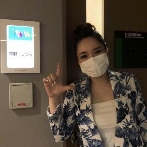 吉田栄作と『ラヴィット!』で共演した平野ノラ(画像は『平野ノラ Nora Hirano 2021年9月7日付Instagram「この後、TBSラヴィット!」』のスクリーンショット)