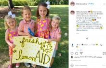 【海外発!Breaking News】4人の子供たちが起こした善意の奇跡 レモネードスタンドを開き小児病院に3年で3千万円以上を寄付(米)