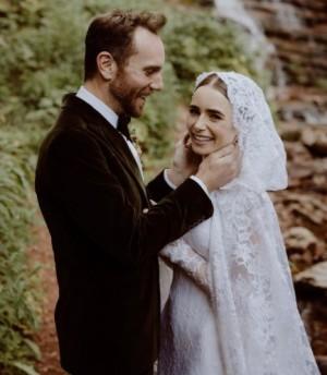 【イタすぎるセレブ達・番外編】リリー・コリンズ、チャーリー・マクダウェル監督と結婚「おとぎ話のようなことが現実になった」