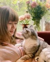 【エンタがビタミン♪】<坂本美雨インタビュー>愛猫・サバ美は保護猫、愛を教えてくれた存在 辛い過去も「すぐに心を開いてくれた」