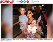 【海外発!Breaking News】10歳少年がぬいぐるみをプレゼントし2歳児大喜び シンプルな優しさに母親は「涙が出そうだった」(英)
