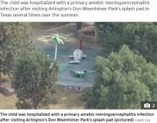 【海外発!Breaking News】公園の水遊び場で男児が「脳を食うアメーバ」に感染し死亡(米)