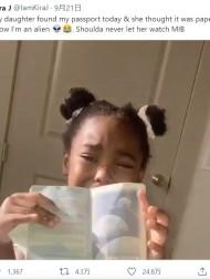 【海外発!Breaking News】「ママはエイリアンだった!」 想像力豊かな子どもの可愛い勘違いに大笑い(米)<動画あり>
