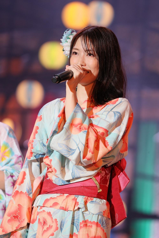「⼀歩踏み出そうと決断しました」と横山由依(C)AKB48