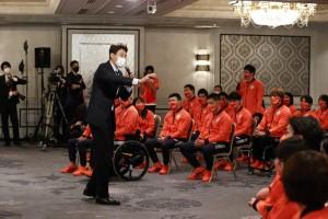 イベントを熱く盛り上げた松岡修造(C)日本オリンピック委員会