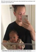 【海外発!Breaking News】妊娠に気づかなかった女性、陣痛から8分後に出産「食あたりか何かだと思った」(フィンランド)