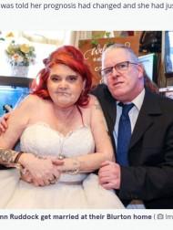 【海外発!Breaking News】余命わずかと告げられた女性のために 支援の輪が広がり婚約者と48時間後に挙式(英)