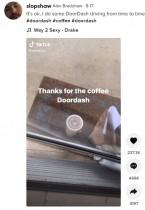 【海外発!Breaking News】繰り返されるドア前ギリギリへのコーヒー置き配 注文主は外に出られず「チップが少ないから嫌がらせ?」(米)
