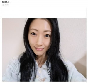 昭和55年生まれの壇蜜(画像は『壇蜜 2021年1月1日付オフィシャルブログ「お約束の。」』のスクリーンショット)