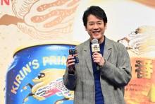 【エンタがビタミン♪】唐沢寿明、ほろ酔い? イベントで何度もビールを堪能「やばくなってきたね」「もう帰っていいかな」