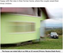【海外発!Breaking News】「別の景色を見たい」妻の一言で360度回転する家を造った男性(ボスニア・ヘルツェゴビナ)<動画あり>