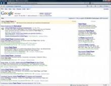 グーグル検索でトップ表示される偽FlashPlayerに注意