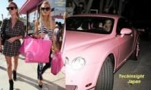 【イタすぎるセレブ達】パリス・ヒルトン、10月のテーマ・カラーはピンク・ピンク・ピンク!