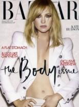 【イタすぎるセレブ達】高級ファッション誌1月号表紙のケイト・ハドソンに、画像修正疑惑の声。