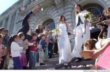 【海外仰天ニュース】米国発、レズビアン教師の結婚式を小1児童らが祝福!