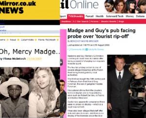 """【イタすぎるセレブ達】マドンナ告白、""""イギリス生活で最も嫌だったのはあのニックネーム""""。"""