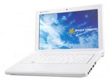 マウスコンピューターがオリジナルノートPC「LB-G1000」を 5万円台から発売、10.2インチの液晶採用160GB HDD を搭載