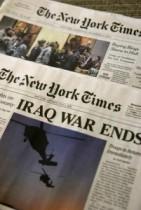 【海外仰天ニュース】騙された人続出!偽『NY TIMES』紙がイラク戦争終結を告げる。
