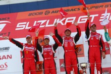 NISSAN GT-Rがデビューレースで1-2フィニッシュ