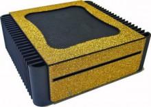 豪華インテリア向けパソコン 1万個のクリスタルが輝く静音PC オリオスペック