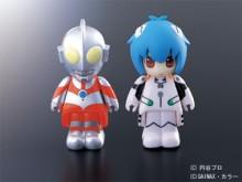 ウルトラマン&綾波レイ フィギュア型USBメモリ 限定販売
