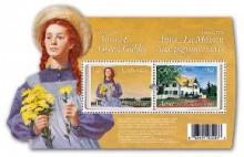 「赤毛のアン」出版100周年記念切手をカナダ郵政が発売。