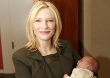 祝!ケイト・ブランシェット、もう赤ちゃんをお披露目