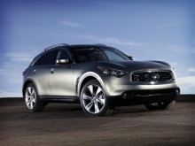 日産自動車、ジュネーブモーターショーに新型「インフィニティFX50」を出展