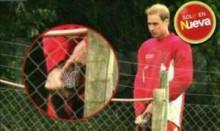【海外仰天ニュース】英国発、ウィリアム王子の立ちション姿が激写された!